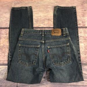Levi's Strauss Jeans Boys 14 Men Sz 27 X 27 Skinny